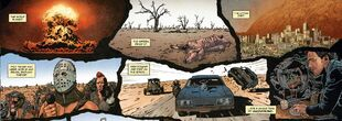 Road Warrior comic book