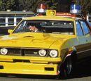 "Ford Falcon XB Sedan 1974 ""Max's Yellow Interceptor"""