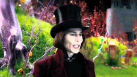 Charlie and the Chocolate Factory - 'Land of Candy' Scene