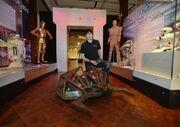 Battleaxe in museum of fame robots