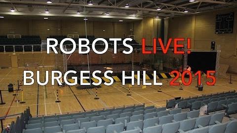 Robots Live! Burgess Hill 2015