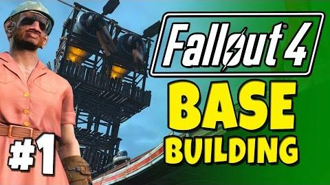 "Fallout 4 - Building a Base! 1 Fort Ginger ""Spoiler Free""."