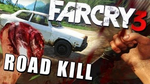 Far Cry 3 - Roadkill Simulator - Hunting Gameplay