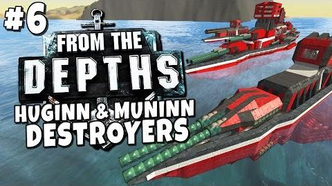 From the Depths 6 - Huginn & Munnin Destroyers