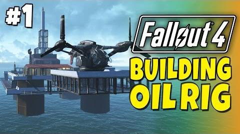 Fallout 4 - Building a Oil Rig -1