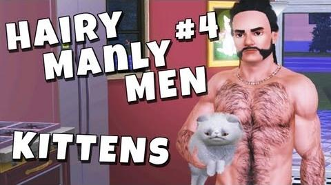 The Sims 3 - Hairy Manly Men 4 Kittens