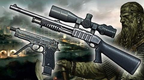 "Bf3 - Sniper Shotgun and 93R Gameplay ""Viking Commentary""-0"