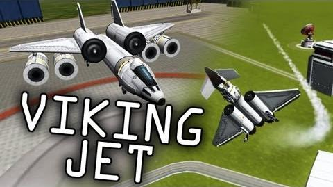 "Viking Space Program 3 - Jet Fighters - Kerbal Space Program Gameplay ""Viking Commentary"""