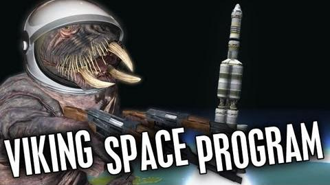 "Viking Space Program - Kerbal Space Program Gameplay ""Viking Commentary"""