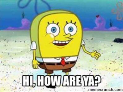 Hi, how are ya