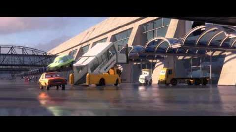 Cars 2 Airport scene