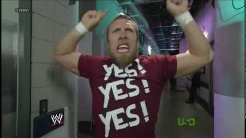 Daniel Bryan YES! YES! YES!