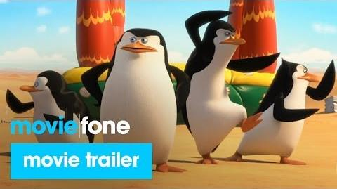 Penguins of Madagascar Trailer (2014) Benedict Cumberbatch, John Malkovich