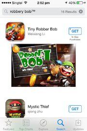 Robbery Bob Search