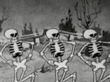 Spooky Scary Skeletons (Halloween)