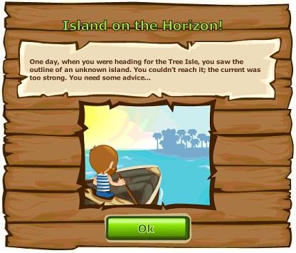 Island on the Horizon!
