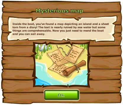 Mysterious map