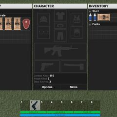 A rough draft of what the new inventory will look like.
