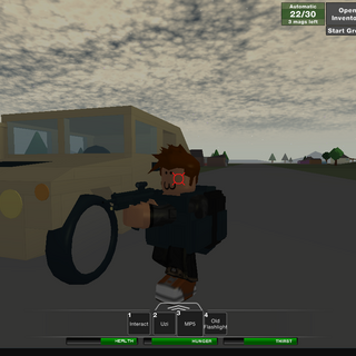 A fully functioning humvee.