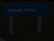 Cheek Pitts Sign