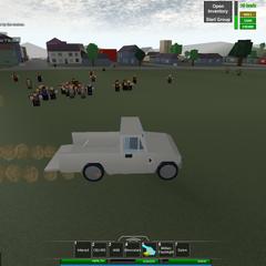 A big zombie horde