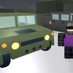 Both Humvees with armour. ~seps13 / TuxedoMonkeyYT