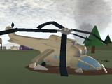 Helicopter Crash (Apocalypse Rising 1)
