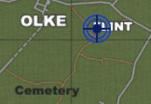 Flint, Olke & Cemetery