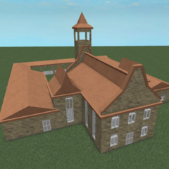 New monastery using the new AR2 building style.