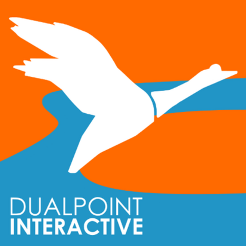 The alternate logo of Dualpoint Interactive.