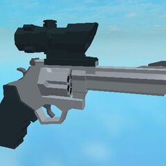 Some handguns will be able to have scopes attached to them