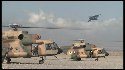 Afghan Mi-17 Helicopters Support Independent Operations AiirSource