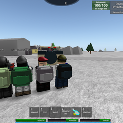 Ogm, we're the power rangers of mili packs.