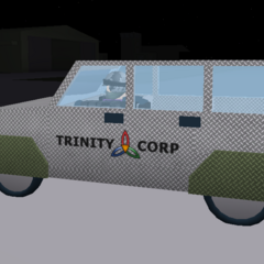 Trinity SUV with armour. ~seps13 / TuxedoMonkeyYT