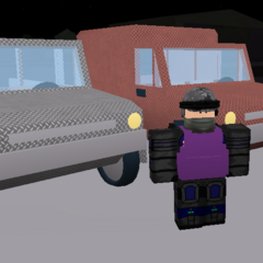 Pickups with armour. The pickups are actually smaller versions of the Urals! ~seps13 / TuxedoMonkeyYT