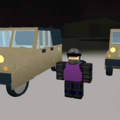 The Jeeps with armour. ~seps13 / TuxedoMonkeyYT