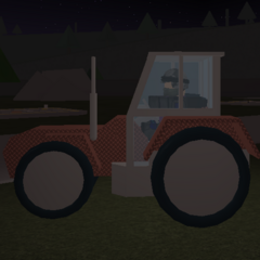 Tractor with armour. ~seps13 / TuxedoMonkeyYT