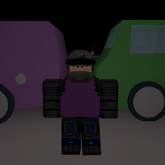 Both the delivery van and the van. ~seps13 / TuxedoMonkeyYT