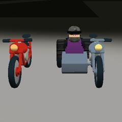 Motorcycles. ~seps13 / TuxedoMonkeyYT