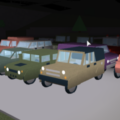 Every car in AR so far! (Credit to kingreeceycup for letting seps13 on his private server :)