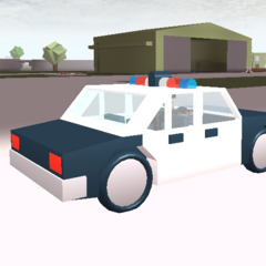 Police Car. ~seps13 / TuxedoMonkeyYT