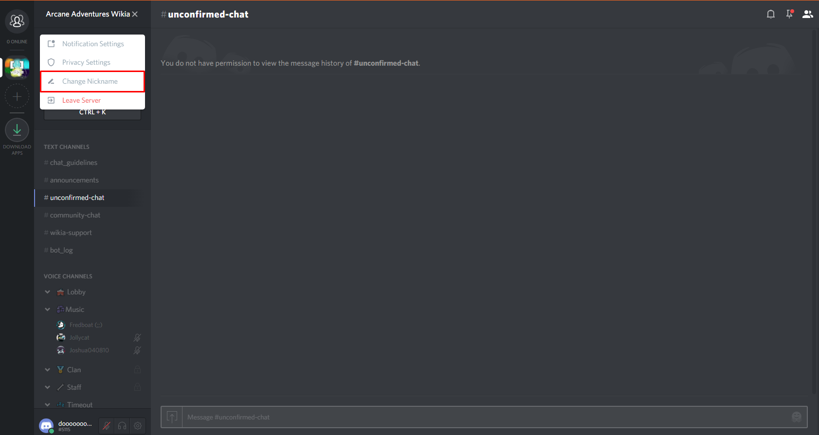 How To Change Your Nickname In A Discord Server لم يسبق له مثيل