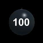 100lb. Cannonball