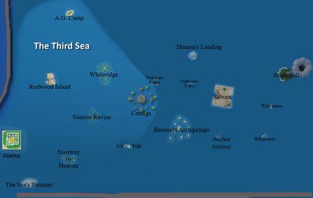 Third sea map