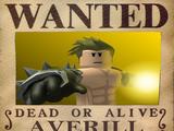 Averill, Pirate Captain