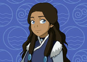 Katara Close Up by invisiblejohnny