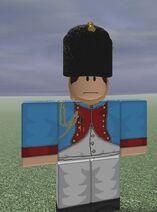 Grenadiers a'Cheval de Garde Bugler