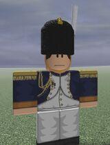 Grenadiers a'Cheval de Garde Officer