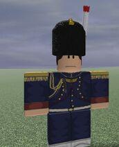 Artillerie a'Pied deGarde Officer