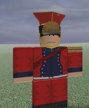 2e Chevau-Leger de GardeOfficer
